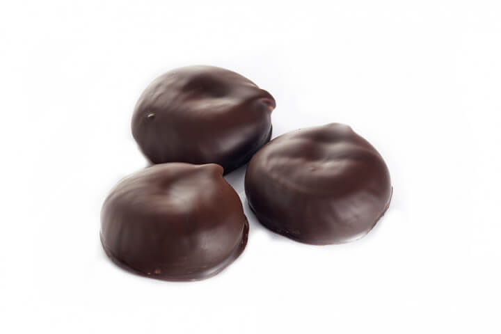 Чернослив с грецким орехом  в тёмном шоколаде (500 гр)
