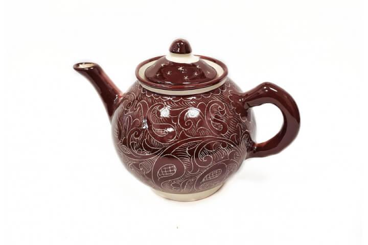 Чайник коричневый 1 л