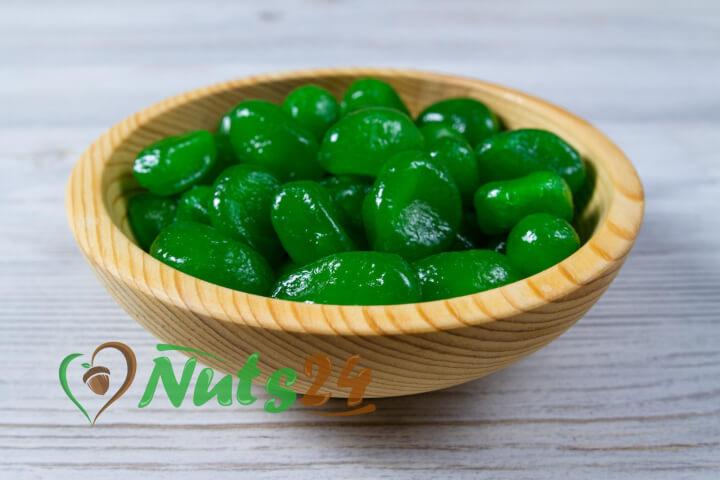 Кумкват в зелёном  сиропе