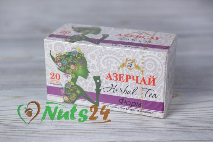 Чай Азерчай травяной манго-ананас 20 пак.