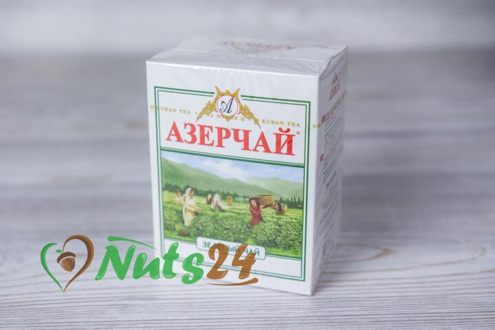 Чай Азерчай зелёный 100 гр.(картон)