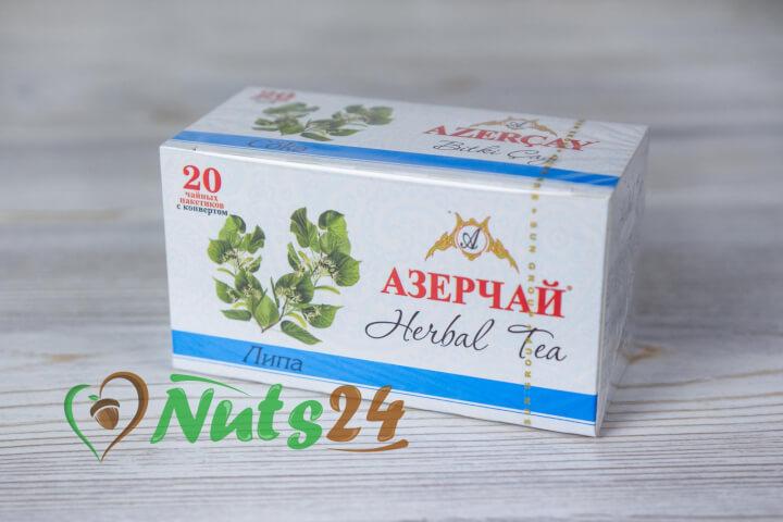 Чай Азерчай травяной липовый 20 пак.