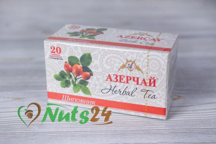 Чай Азерчай травяной шиповник 20 пак.
