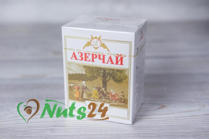 Чай Азерчай чёрный байх. бергамот 100 гр.(картон)