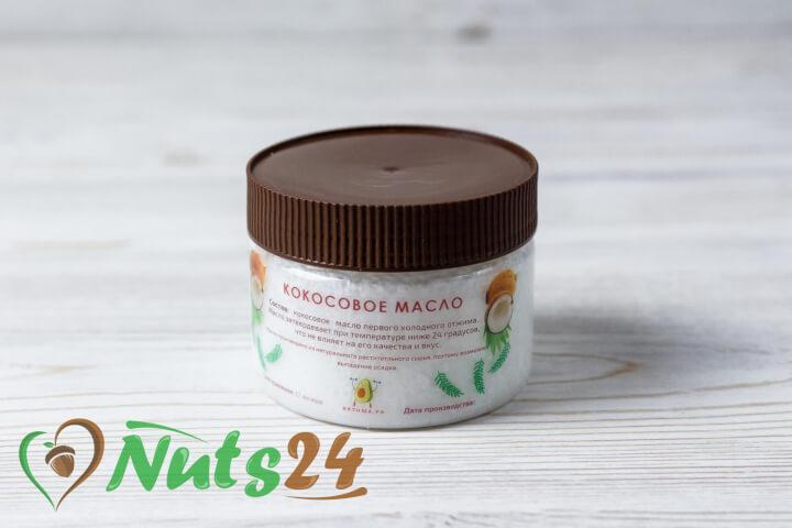 Масло кокосовое (нерафинированное) 0,25л