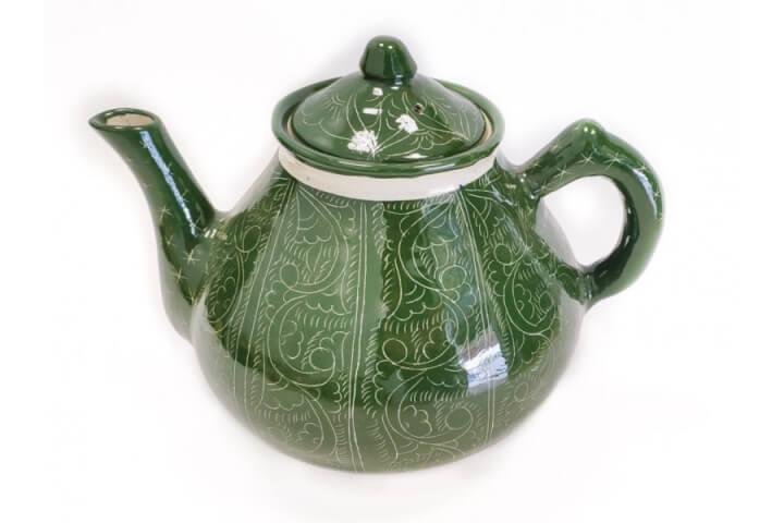 Чайник зелёный 1 л