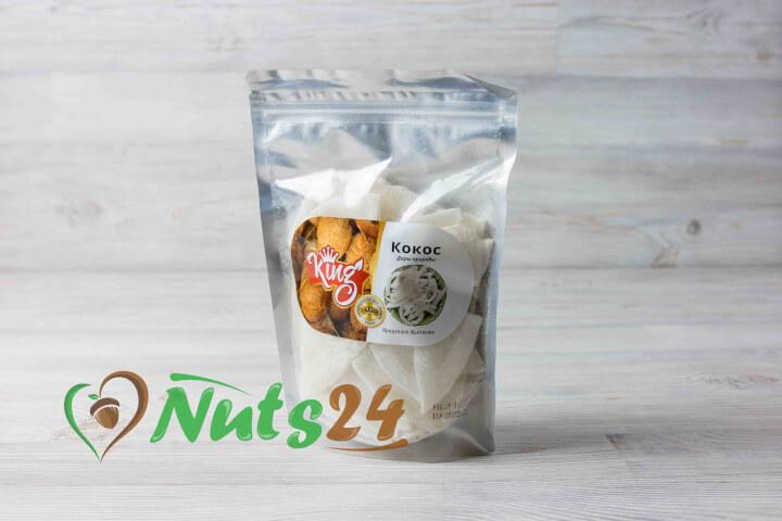 Кокосовые чипсы (KING)  0,5 кг.