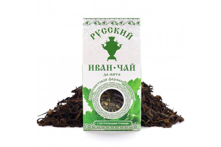 Чай Иван-чай мята 50 гр.