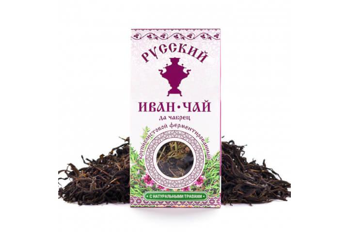 Чай Иван-чай чабрец 50 гр.