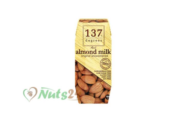 Молоко миндальное без сахара 180 мл