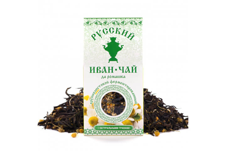 Чай Иван-чай ромашка 50 гр.