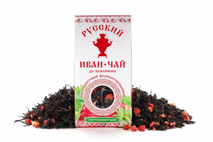Чай Иван-чай земляника 50 гр.