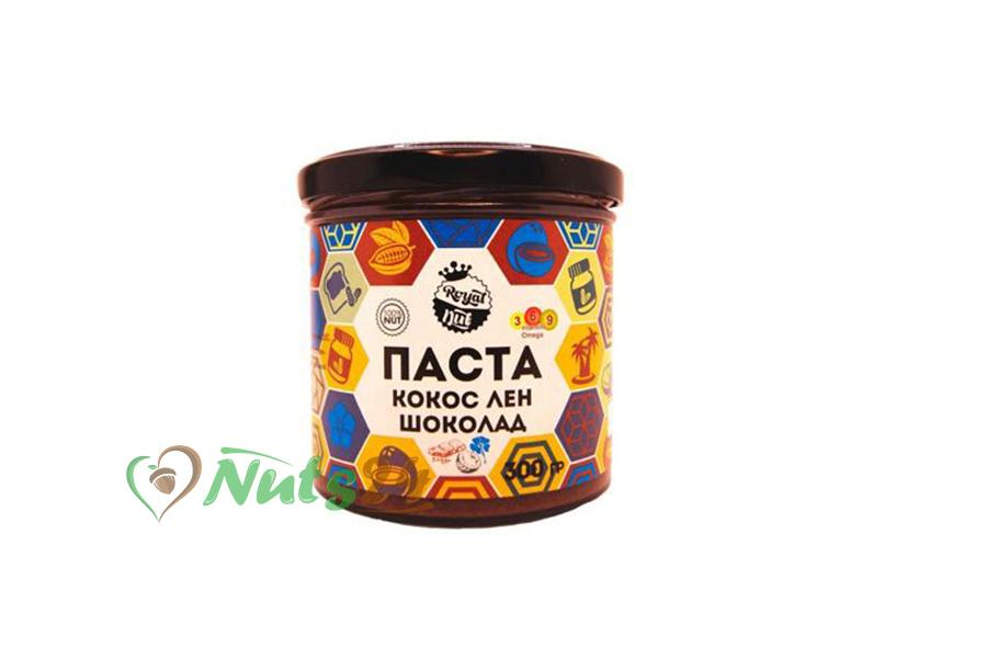 Паста Лён+Кокос+Шоколад 300 гр