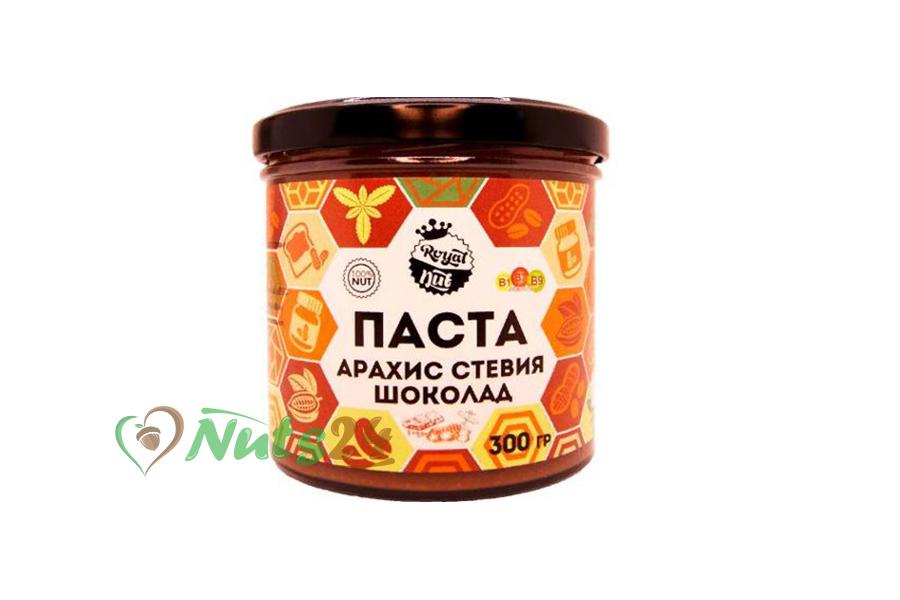 Паста арахисовая Шоколад (какао+стевия) 300 гр