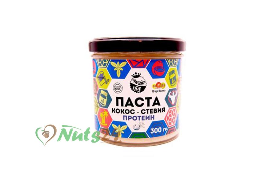 Паста Кокос+протеин+стевия 300 гр