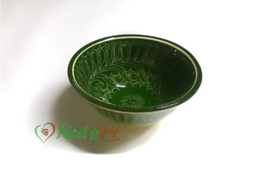 Пиалушка 10 см зелёная