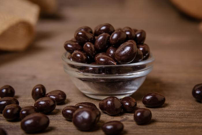 Клубника в тёмном шоколаде 500 гр