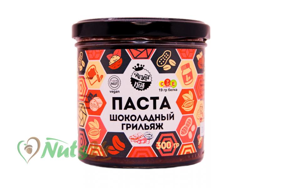 Паста Грильяж шоколадный грецкий орех 300 гр