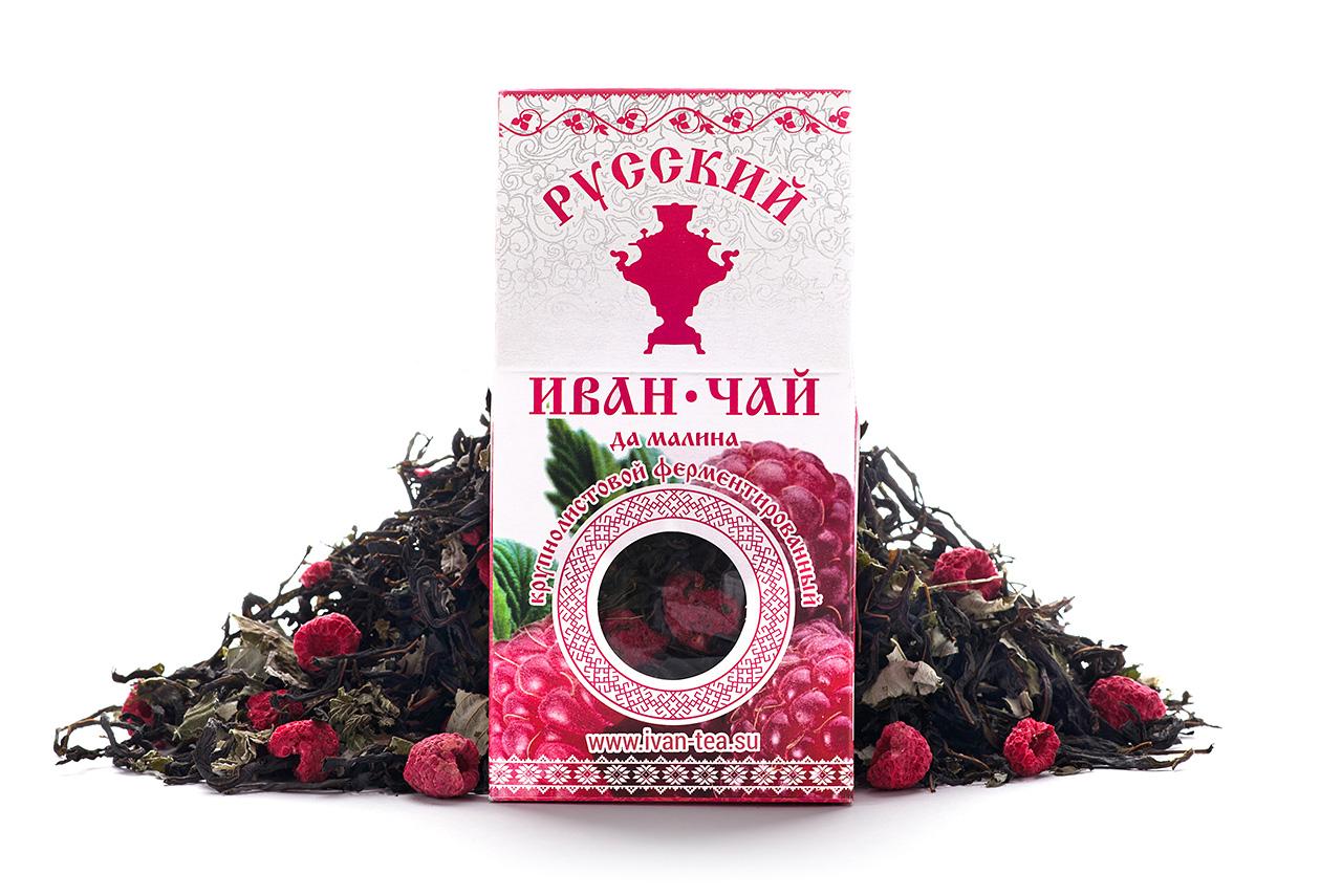 Чай Иван-чай малина 50 гр.