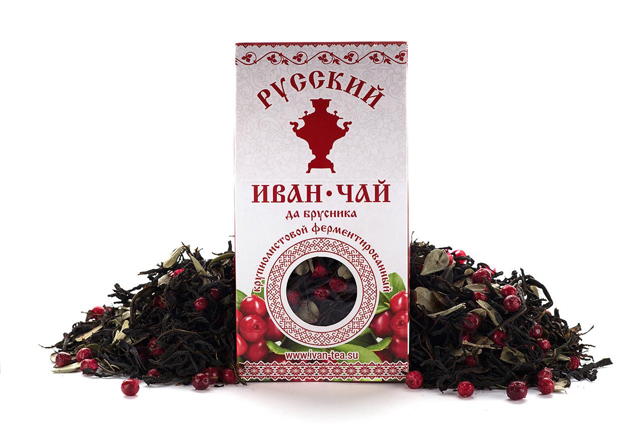 Чай Иван-чай брусника 50 гр.
