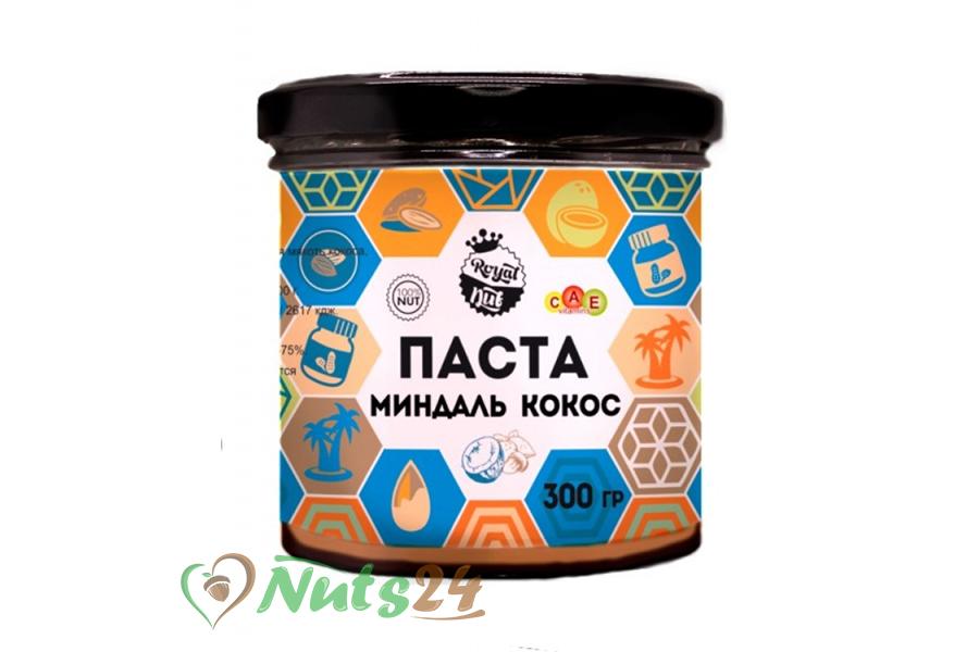 Паста миндаль+кокос 300 гр