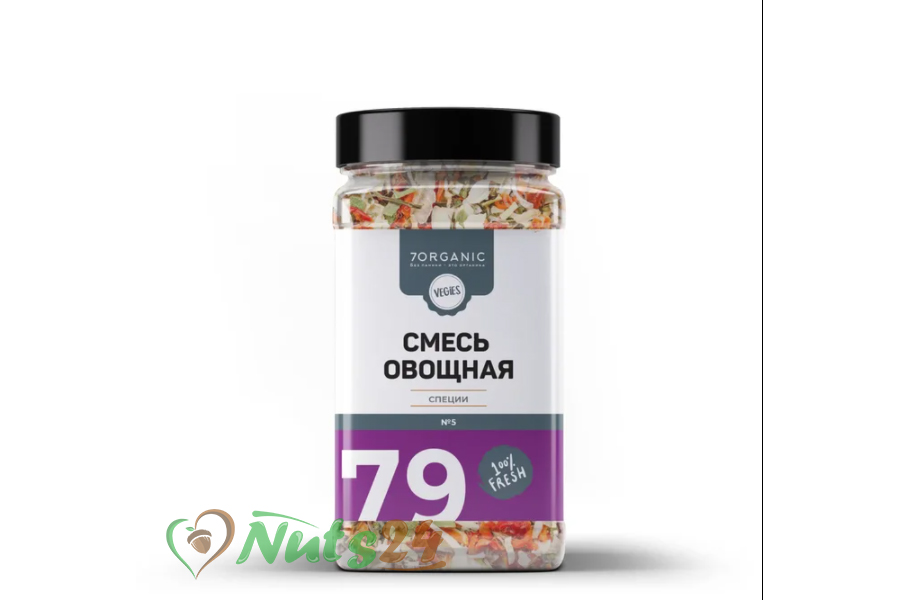 """Смесь """"Овощная 5"""" №79, 140 г"""