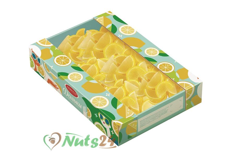 """Мармелад желейный """"Дольки со вкусом лимона"""" 1 кг."""